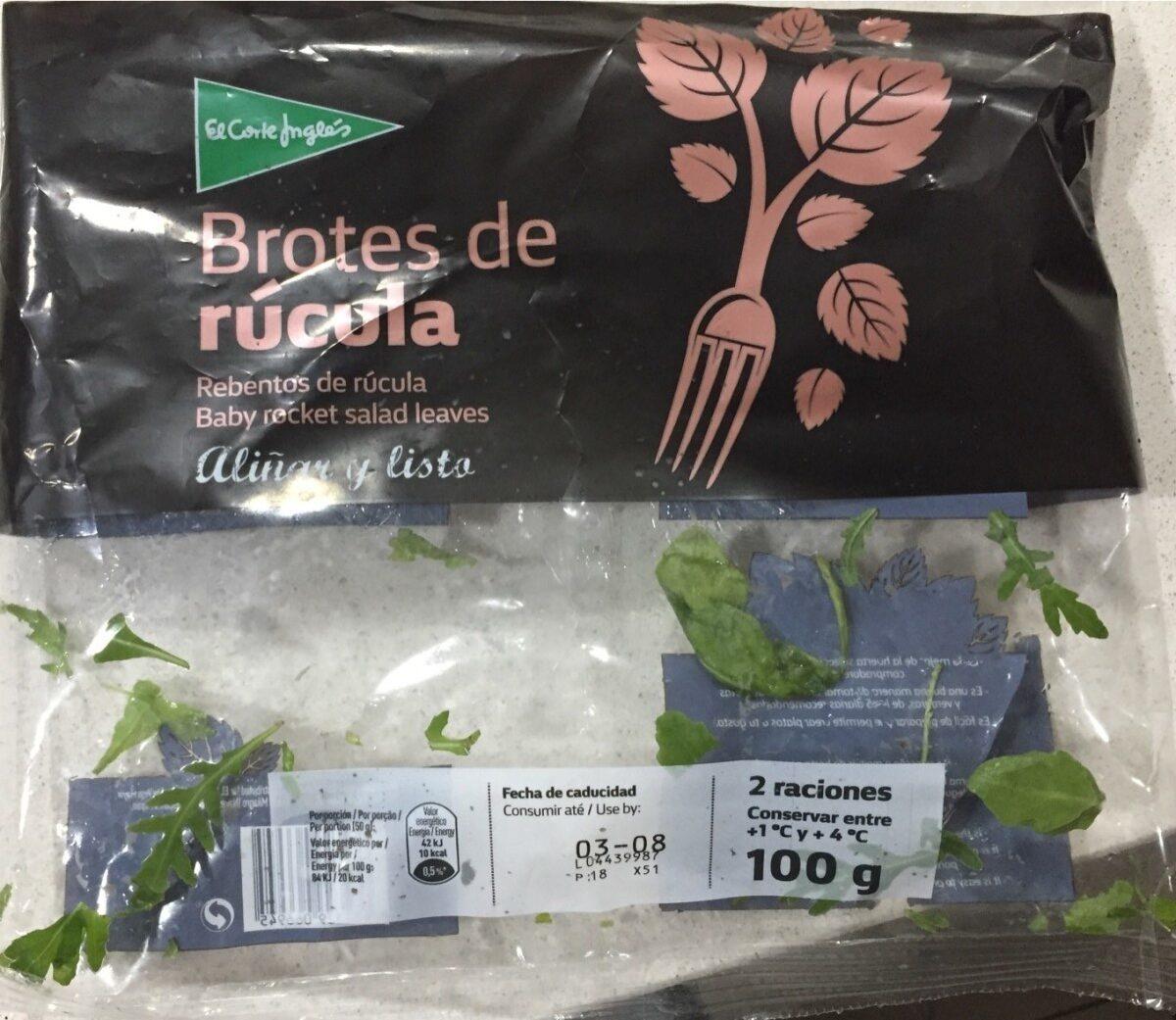 Brotes de Rúcula - Producto