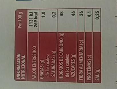 Tomate Deshidratado - Trevijano - 70 G - Informations nutritionnelles - es