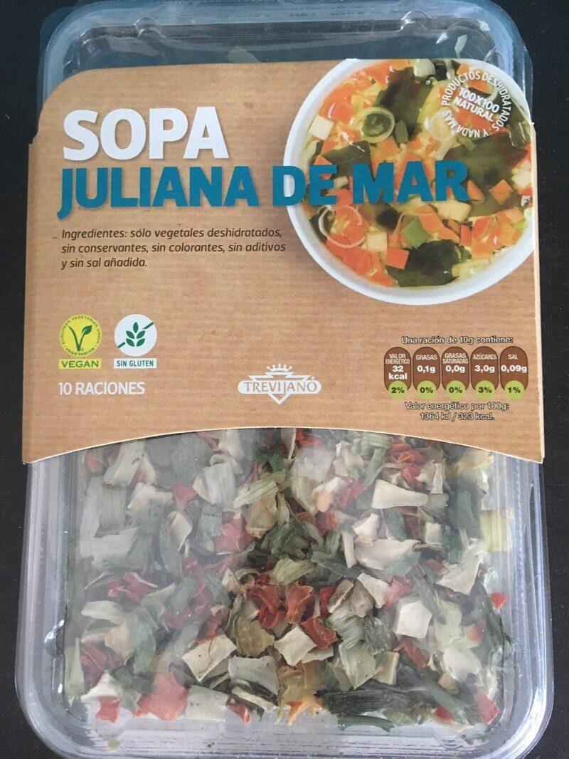 Sopa juliana de mar - Product - es