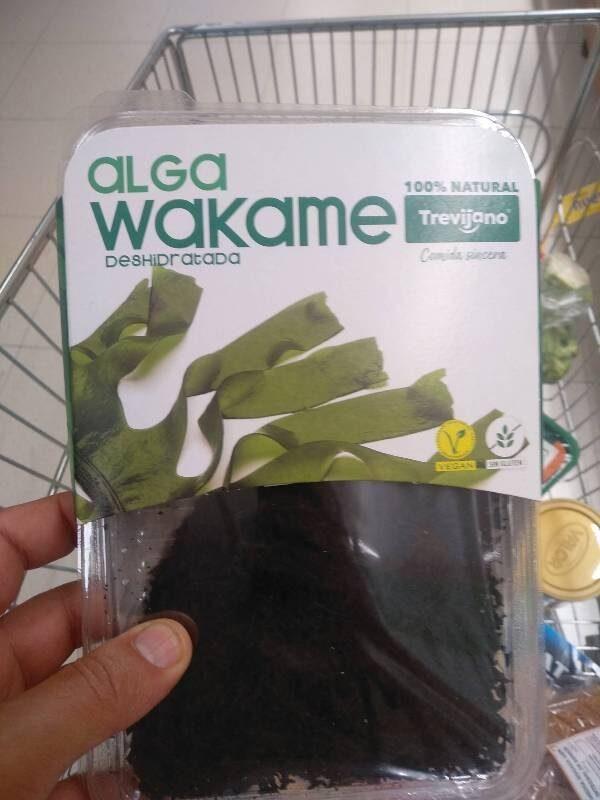 Alga Wakame Deshidratada - Producto