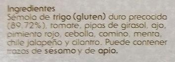 Couscous Marocain - Ingredientes