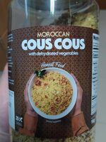 MOROCCAN COUS COUS WITH DEHYDRATED VEGETABLES - Producto - en