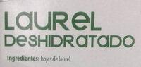 Laurel - Ingrédients - es