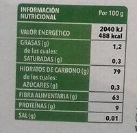 Laurel - Informations nutritionnelles - es