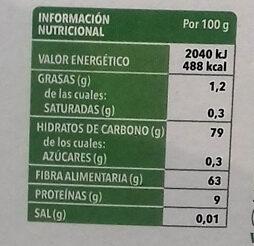 Laurel - Información nutricional - es