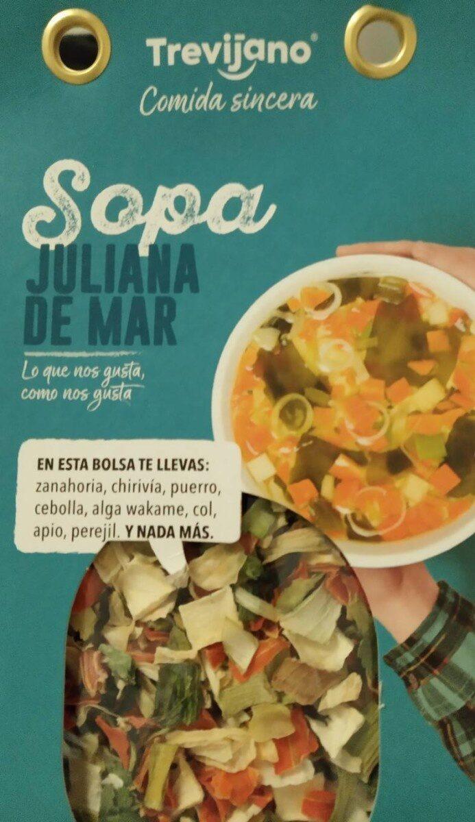Sopa juliana de mar - Producto - es