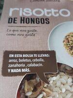Risotto de hongos - Producto - es