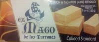 Turron de cacahuete refinado - Product