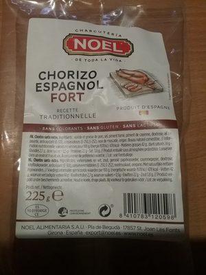 Chorizo espagnol fort - Producto