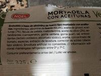 Veggie con aceitunas - Ingredients
