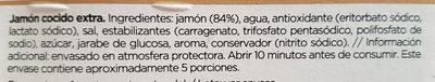 jamon cocido grand bouquet - Ingredientes - es