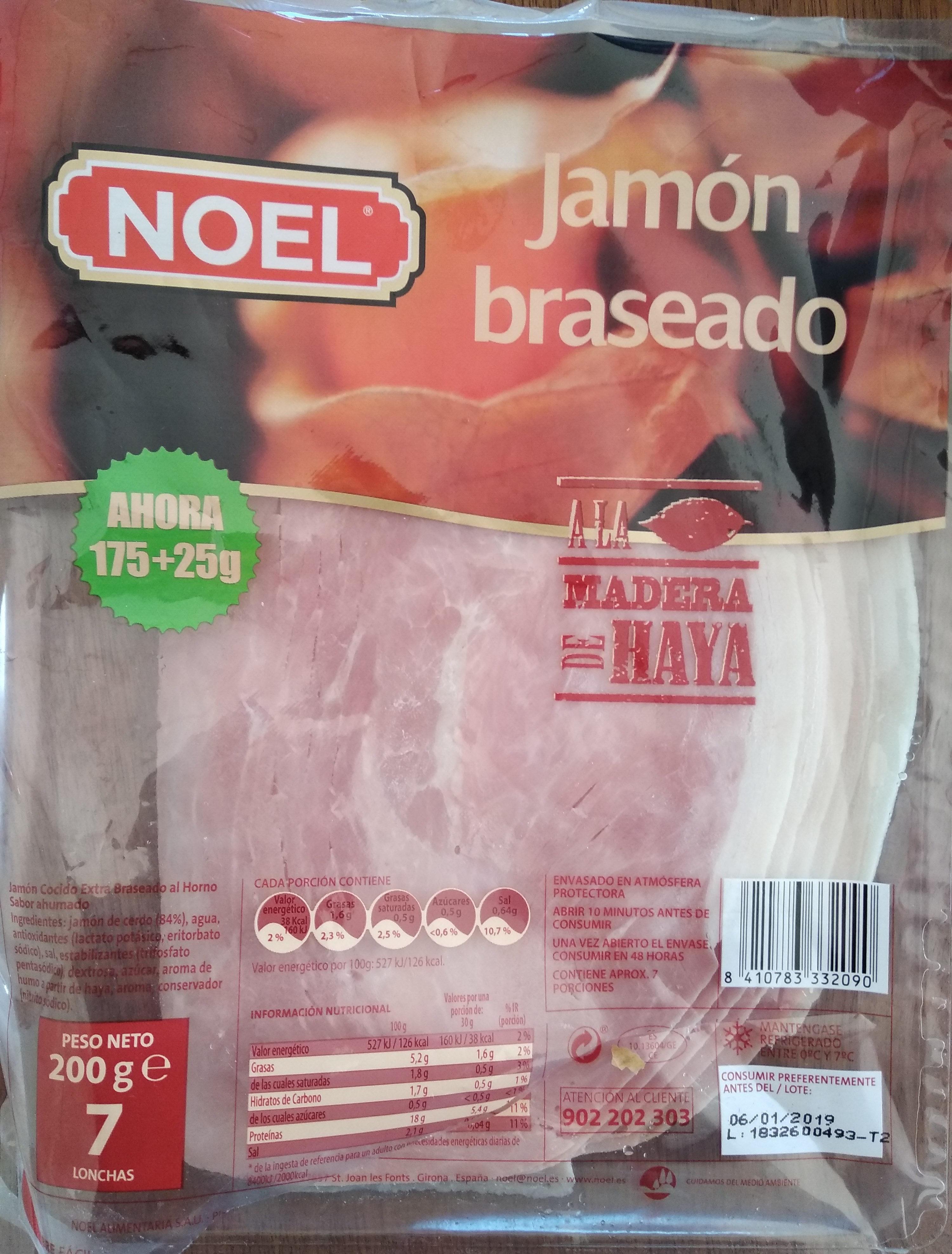 Jamón braseado - Producte - es