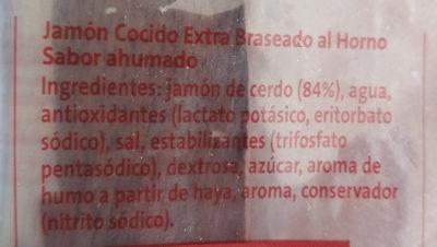 jamón braseado - Ingredientes