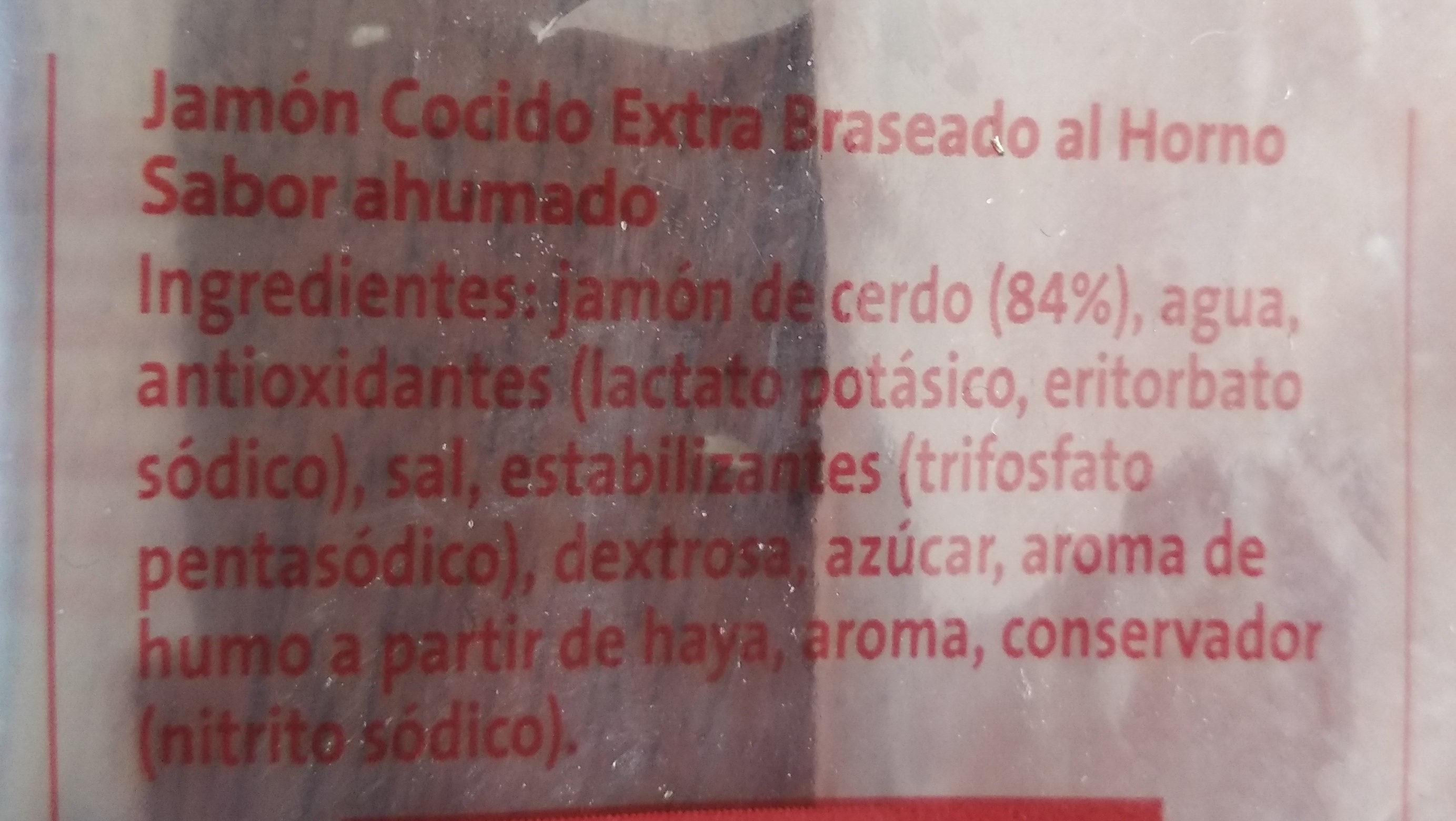 Jamón braseado - Ingredients - es