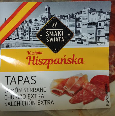 Szynka Serrano, Tapas - Produkt