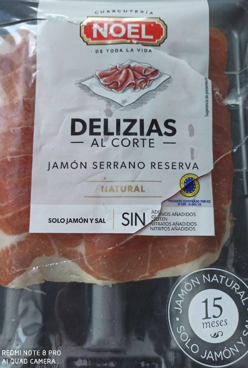 Delizias al corte Jamon Serrano - Producto - es