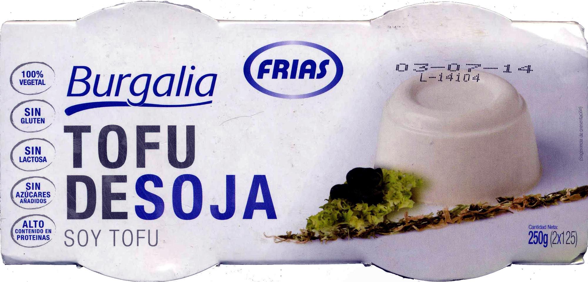 """Tofu """"Burgalia"""" """"Frías"""" - Product - es"""
