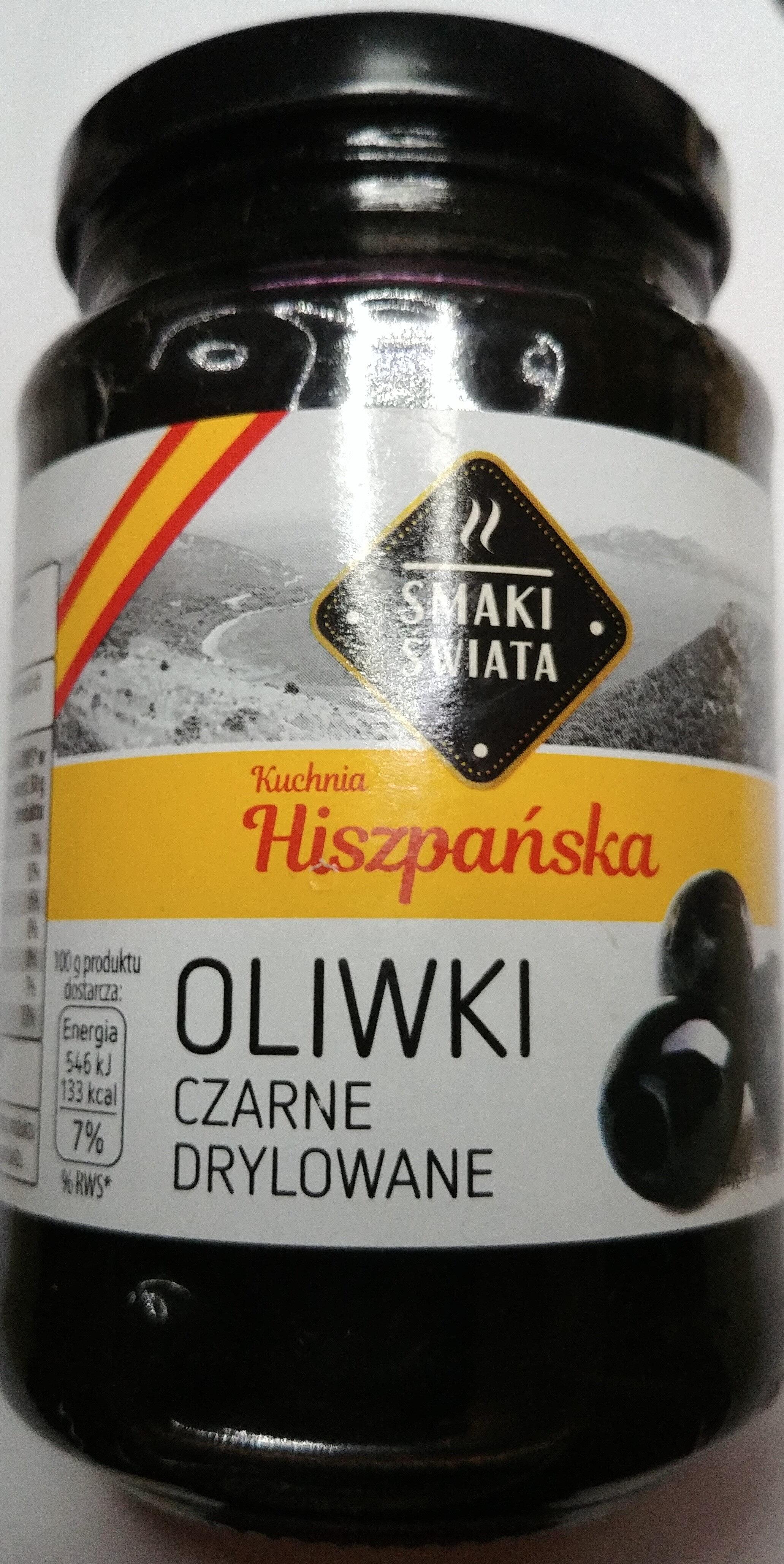 Oliwki czarne drylowane - Produit - pl