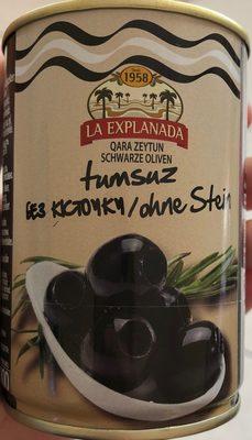 Olives noires dénoyautées - 2