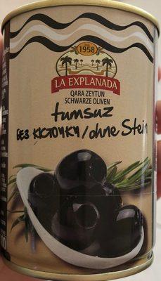 Olives noires dénoyautées - Produit - fr