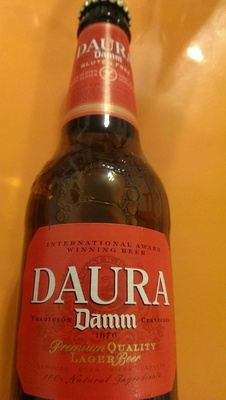 Premium quality lager gluten free - Product