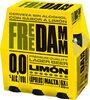 Cerveza sin alcohol con sabor a limón - Produit