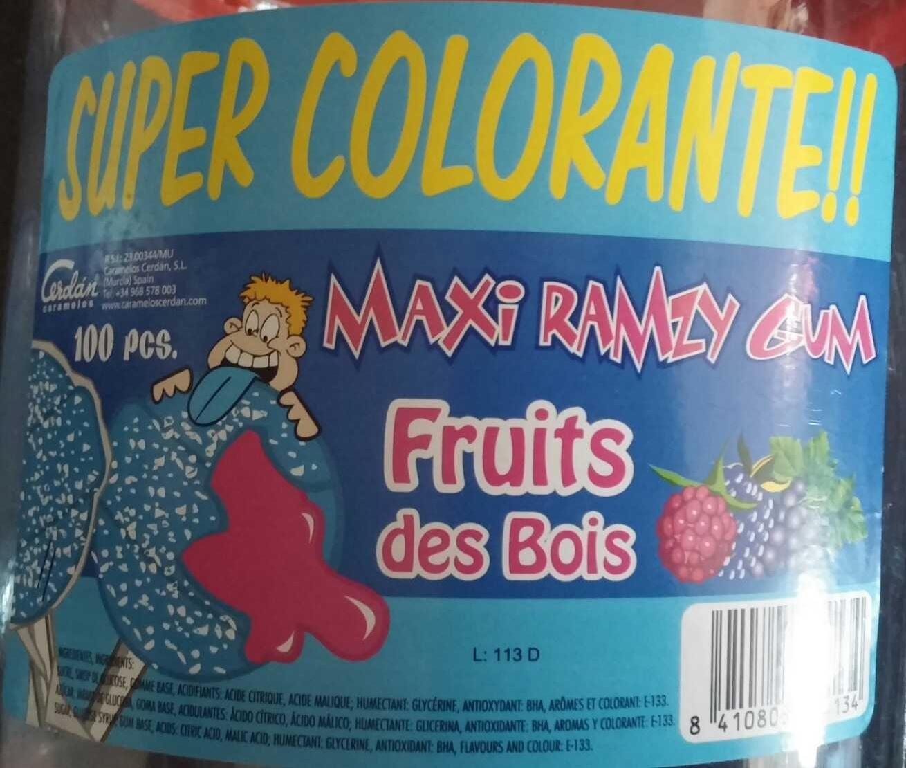 Maxi ramzy gym Fruits des bois - Product - fr