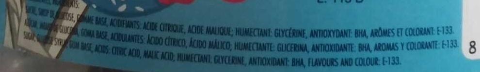 Maxi ramzy gym Fruits des bois - Ingredients - fr