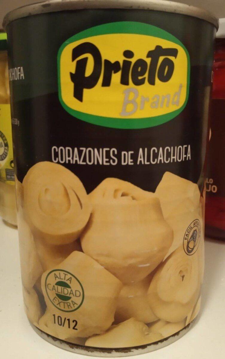 Corazones de alcachofa PRIETO - Produit - es