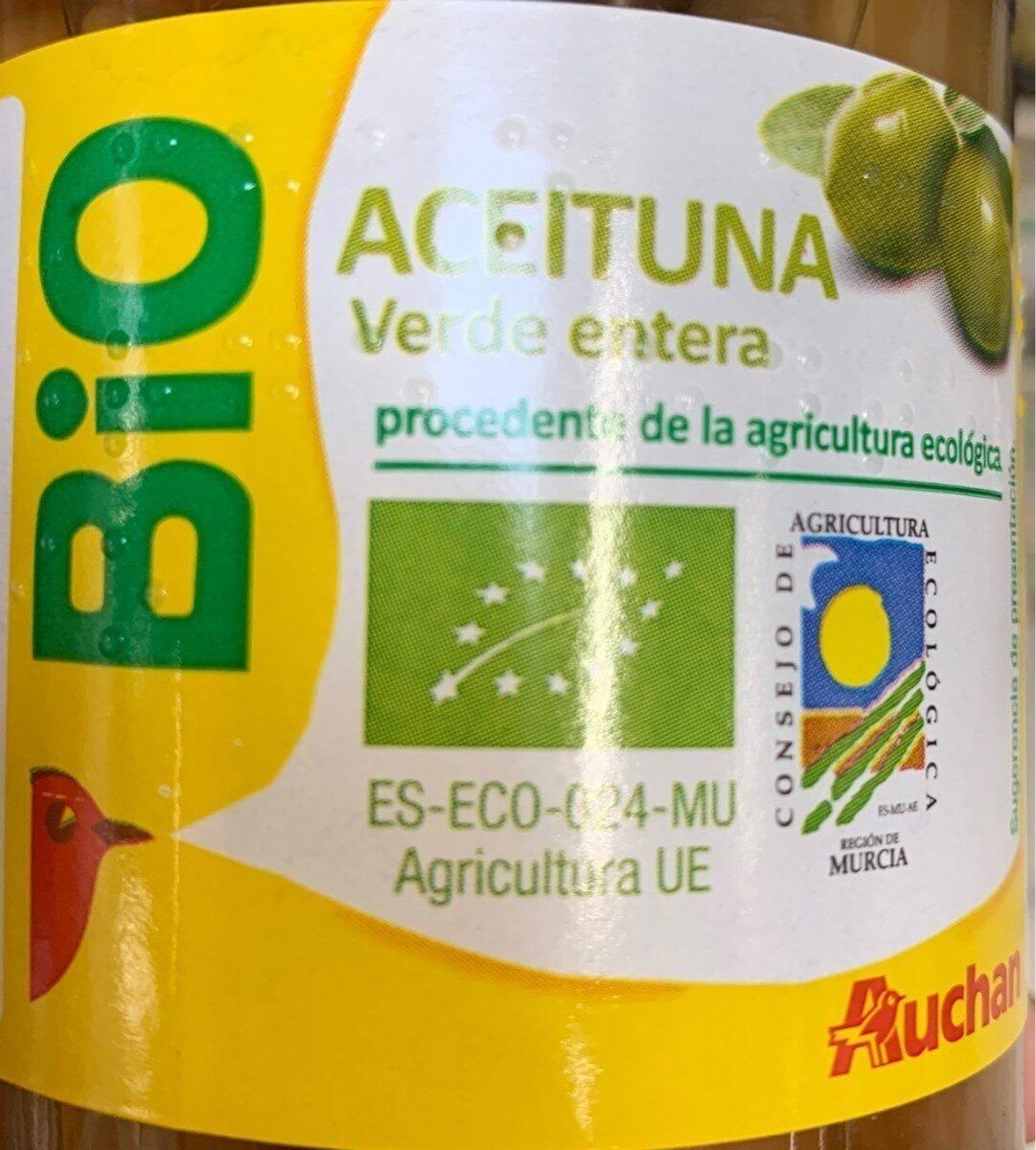 Aceituna Ecologica verde entera - Product - es