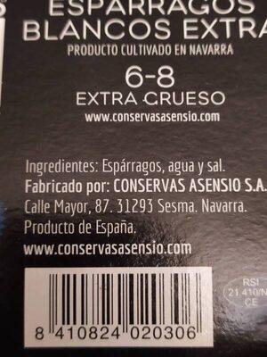 Hongos Boletus Edulis - Ingredientes
