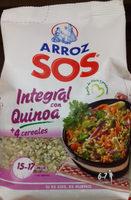 Arroz integral con quinoa + 4 cereales paquete 500 g - Producto - es
