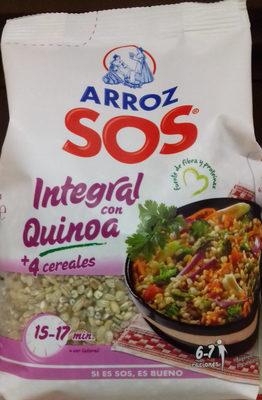 Arroz integral con quinoa + 4 cereales - Producto