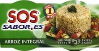 Arroz cocido integral - Producto