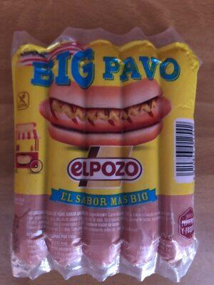 Salchichas El Pozo Big Pavo