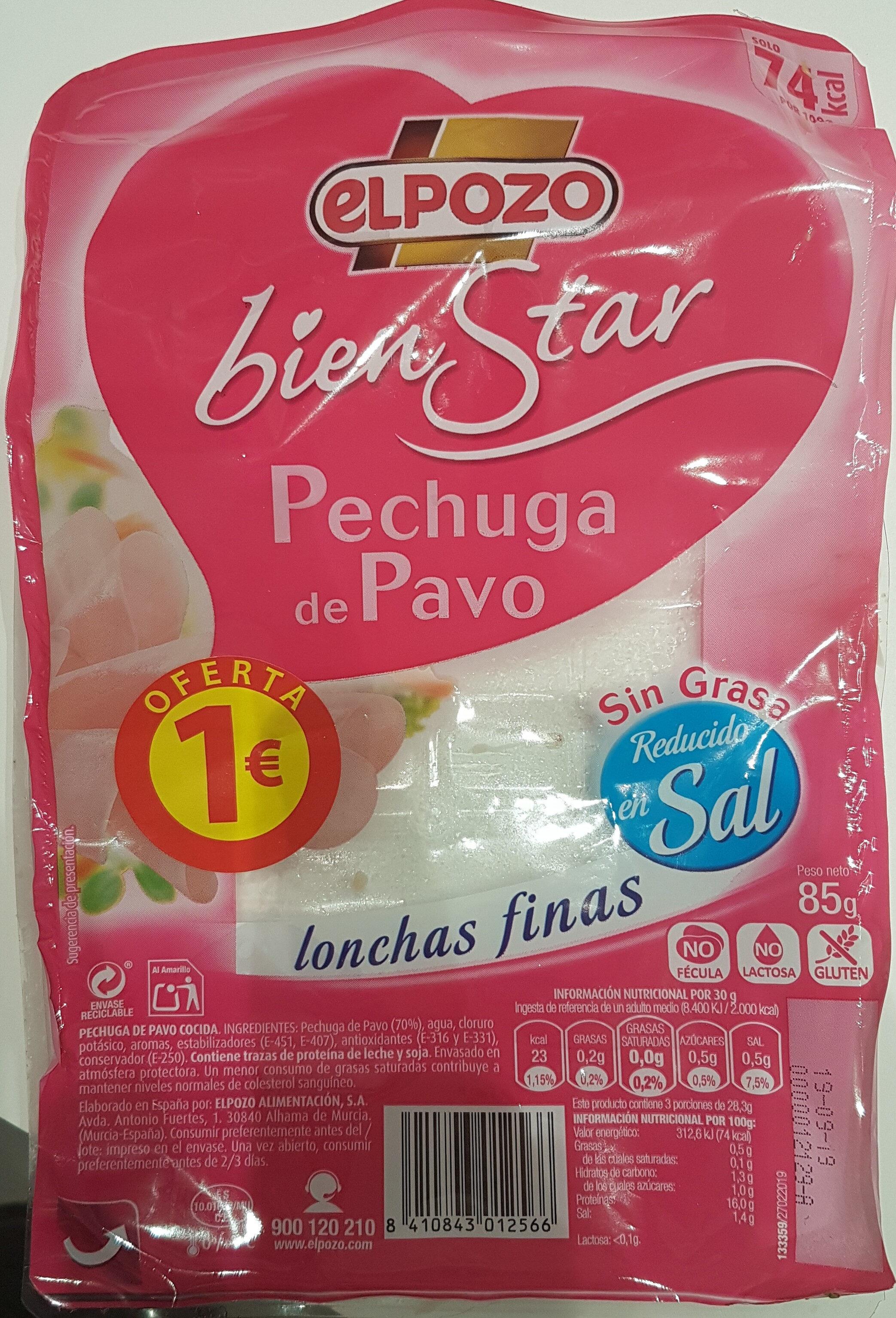 Bien Star pechuga de pavo - Produit - es