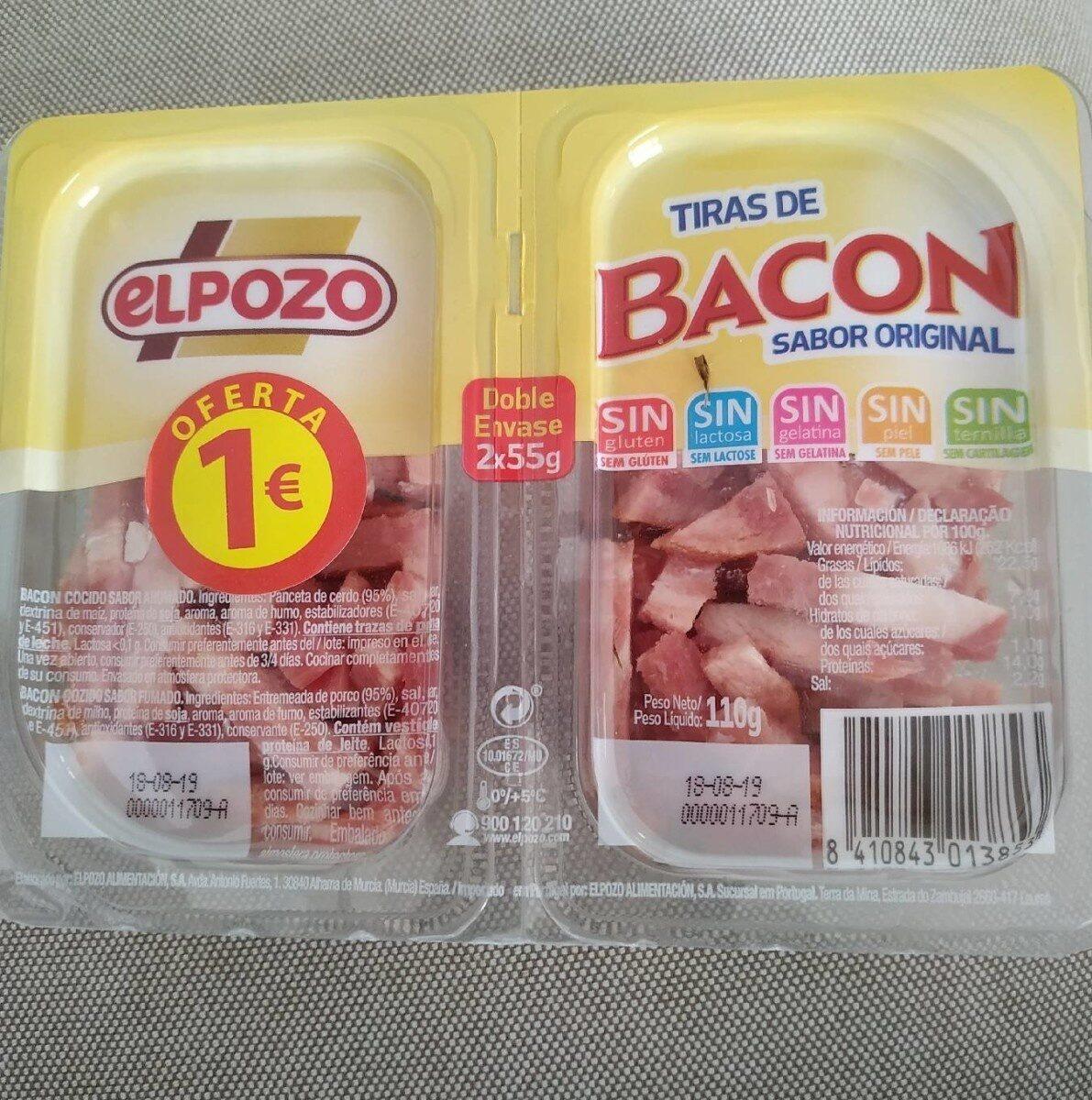 Tiras de Bacon El Pozo - Producte - es