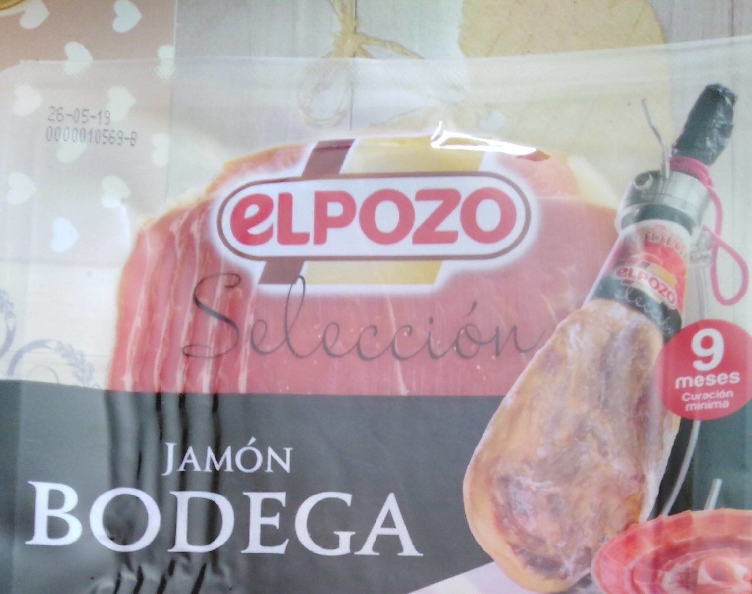 Jamon bodega - Product - fr