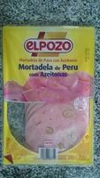 Mortadela de Peru com Azeitonas - Product - pt
