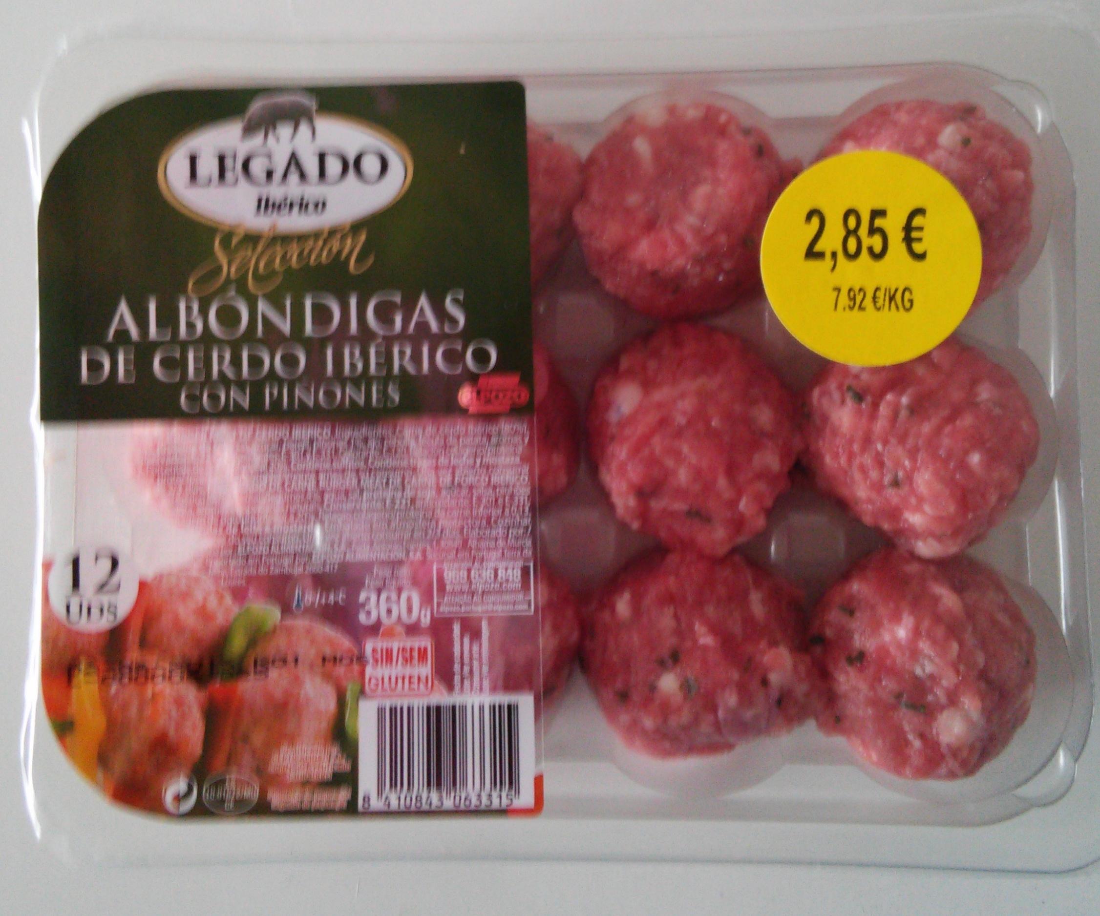 Albóndigas de cerdo ibérico - Product