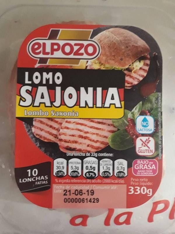 Lomo sajonia - Producte - es