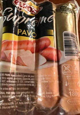 Supreme pavo - Produit