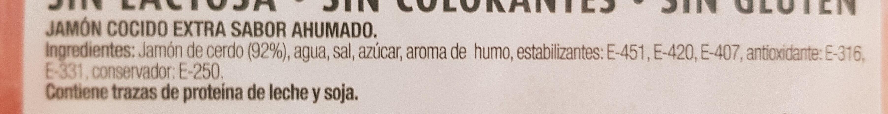 Jamón extra Westfalia - Ingredientes