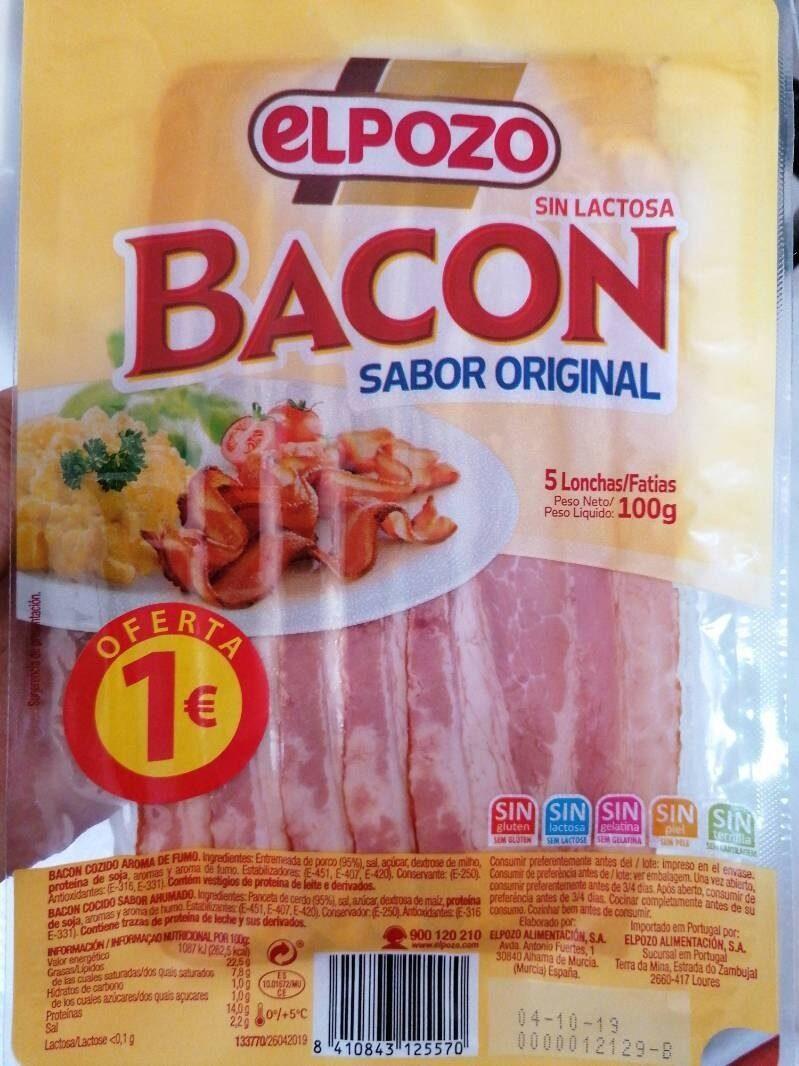 Bacon sabor original - Producto - es