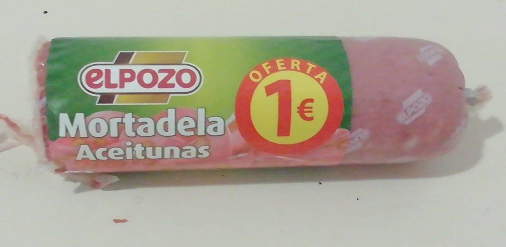 Mortadela aceitunas EL POZO - Producto - es