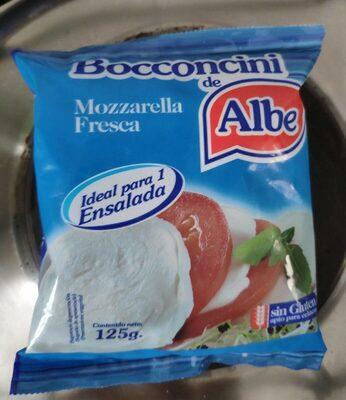 Bocconcini: mozzarella fresca