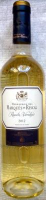 Marqués de Riscal Rueda Verdejo 2012 - Producto