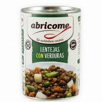 Lentejas con verduras - Produit - es