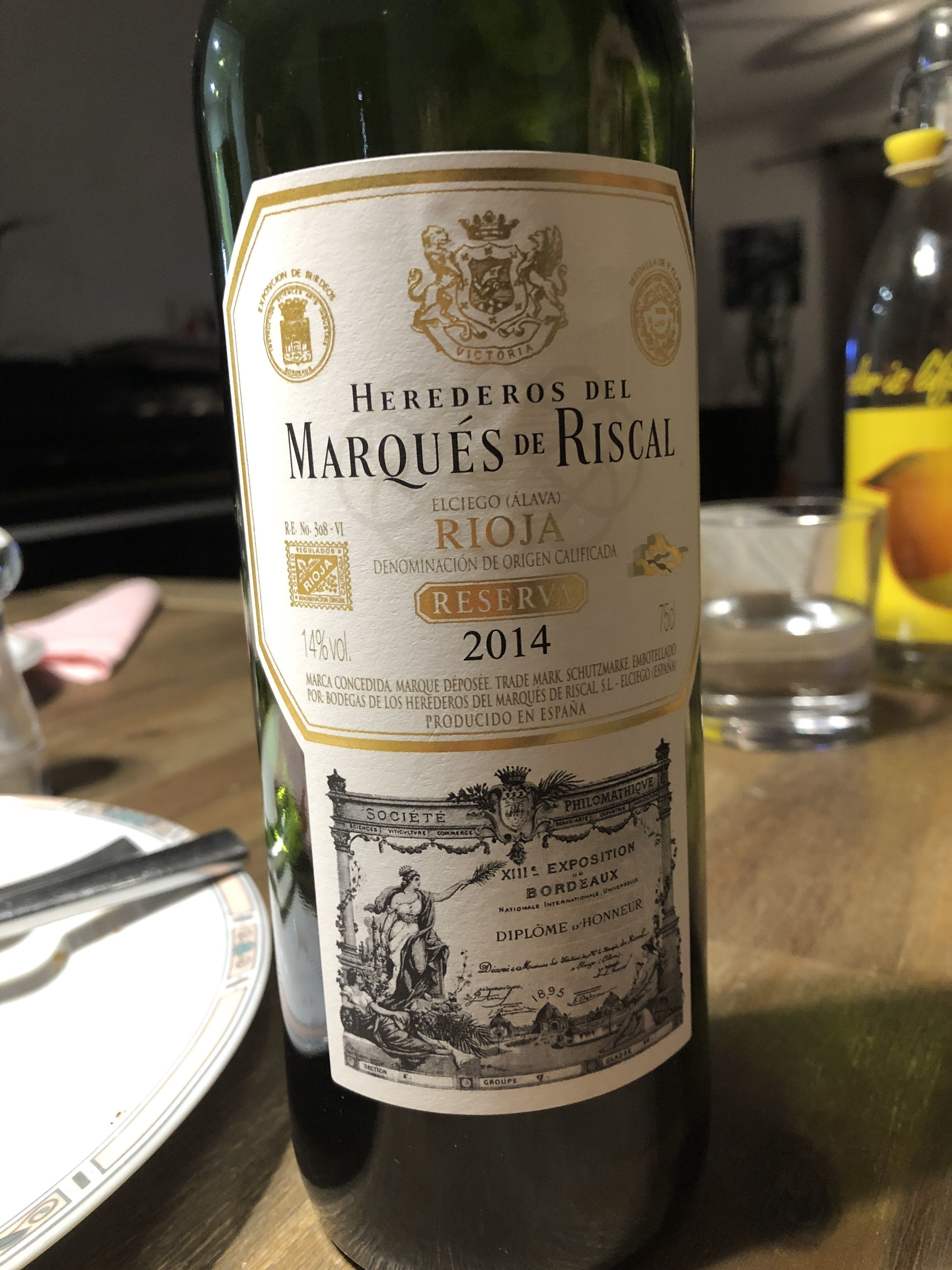Marquès de Riscal Rioja 2011 - Producto - fr