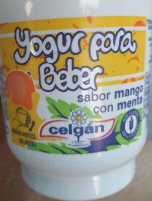 Yogur beber mango menta - Producto - es